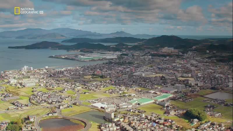 Япония между небом и землёй Серия третяя Голубые острова