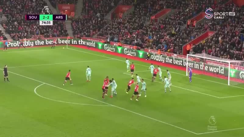 If De Gea, Alisson or Ederson made this save there would be a Netflix mini-series about it.mp4