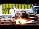 DRIFT CRASH AND FAIL COMPILATION 2 ドリフトクラッシュ