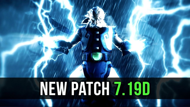 Dota 2 NEW 7.19d PATCH Update - ALL Important Changes!