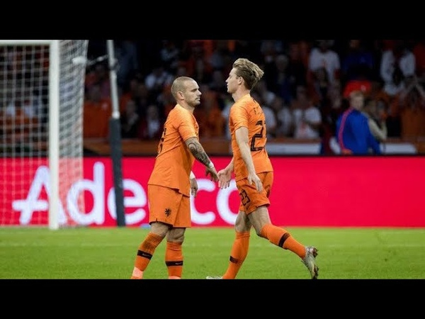 Frenkie de Jong vs Peru (6/9/2018) - Debut