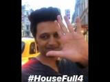 @riteishd signing off from London - Guess where next - - SajidNadiadwala @SimplySajidK @WardaNadiadwala @foxstarhindi Housefull4