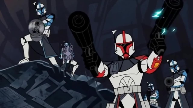 ARC Troopers Resuce Jedi from General Grievous - Star Wars: Clone Wars 2003 - Full Scene 1080p HD