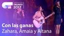 Zahara, Amaia y Aitana - 'Con las ganas' | OT Concierto Bernabéu