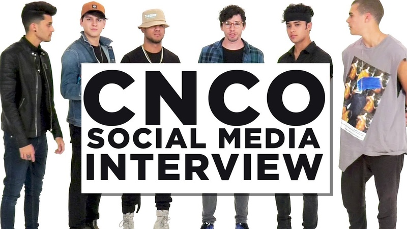 CNCO Social Media Interview | They Love Engaging CNCOwners!