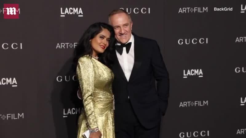 Сальма Хайек на «LACMA Art and Film Gala» | 2018