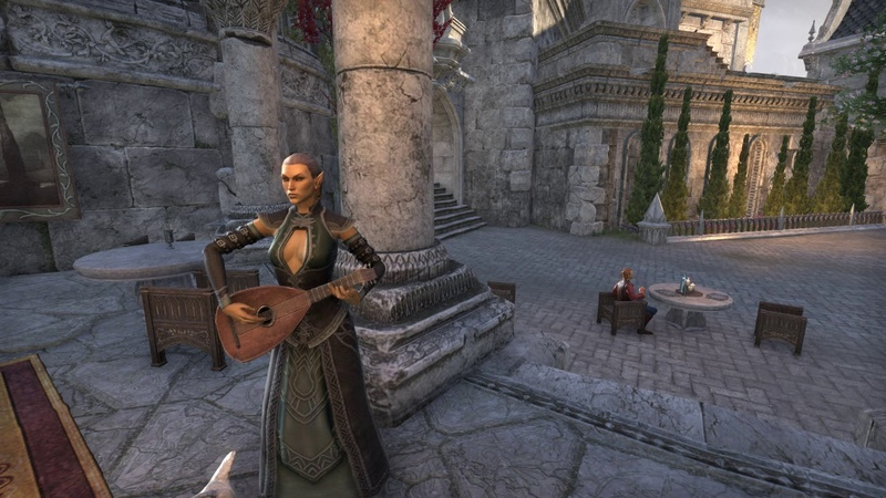 ESO Summerset Female bard song - Folly of Man