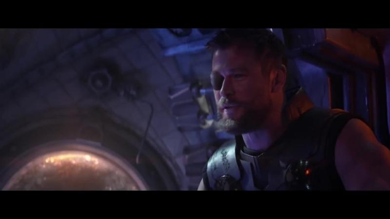 AVENGERS_ INFINITY WAR Movie Clip - Captain Marvel End Credits Scene (4K ULTRA H