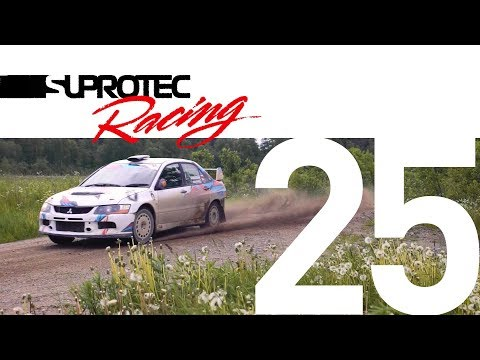 Тесты Mitsubishi Lancer Evolution, ралли
