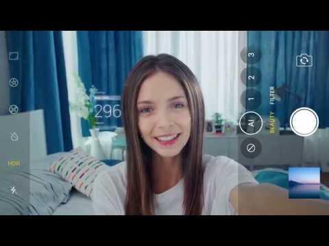 AI Selfie Tune 2.0 в новом OPPOF7