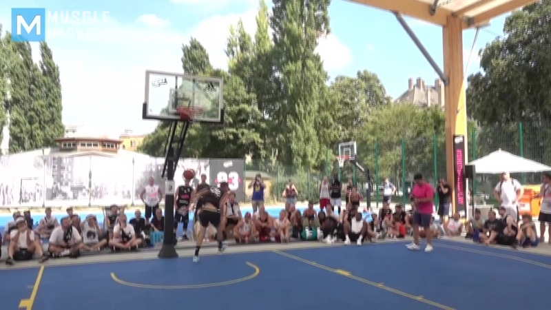 BEST DUNKER in the World - Dmitrii Smoove Krivenko _ Muscle Madness