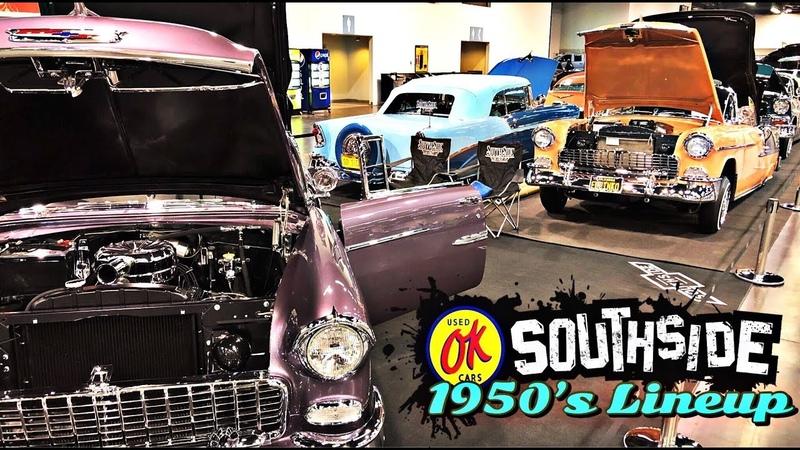 Southside car club 50's lineup (watch in HD)