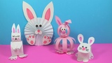 Easy Paper Bunny Craft Ideas | Paper Crafts for Kids