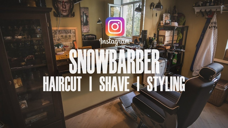 Snowbarber - HAIRCUT | SHAVE | STYLING - Instagram Version