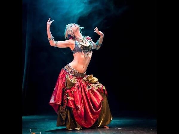 Агапия Савицкая || Indian Tribal Fusion || Фестиваль Шемахинская Баядерка, Москва, ноябрь 2017