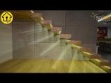 Установка светодиодной подсветки на лестнице
