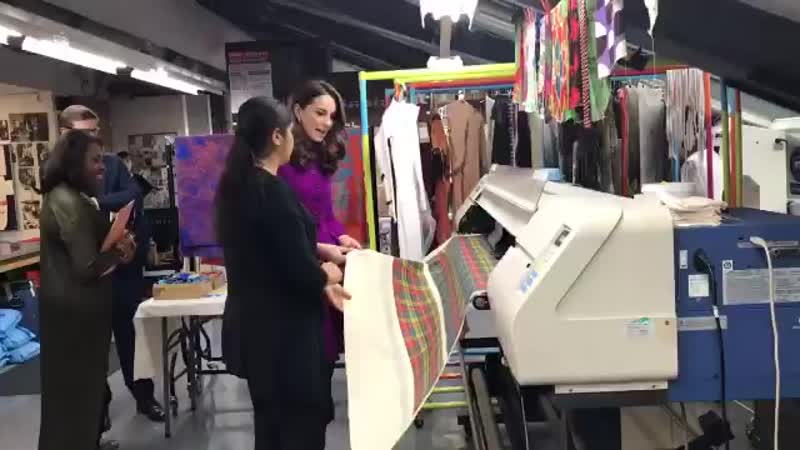 In the @RoyalOperaHouse's dye shop, digital printing is used to reproduce historic fabrics.mp4