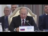 Владимир Путин принял участие в Пятом каспийском саммите, состоявшемся в Республике Казахстан.