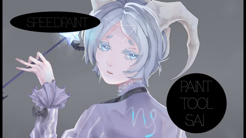 Speedpaint [Paint Tool Sai] Capricorn