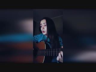 Виктория Никитенко - Мальчик из Питера(Алёна Швец на гитаре)