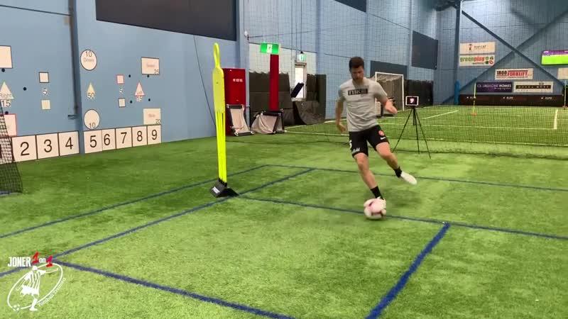 2 FULL Professional Training Sessions Brendan Hamill Joner 1on1 Football Training Обрезка 01