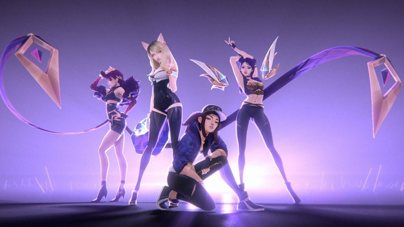 KDA - POPSTARS (ft Madison Beer, (G)I-DLE, Jaira Burns) | Official Music Video - League of Legends