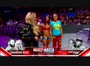 SB Group Sasha Banks return entrance w Bayley Natalya RAW October 16 2018