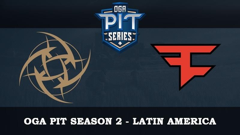 NIP vs FaZe Map2 @Clubhouse OGA PIT Season 2 Latin America 25 10 2018