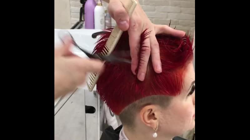В процессе 😁🔥✂️ 📍Студия Красоты Hairtalk 🇩🇪 📲7-988-238-2868  Г.Сочи Ул. Параллельная 9/5(Остров Мечты) 🏝с 10-00 до 20-00🙌🏻без в