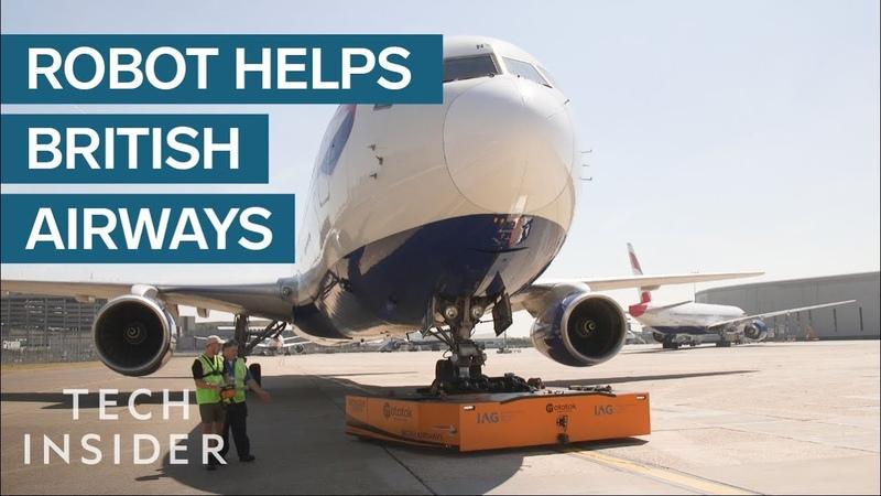 British Airways' New Machine Reduces Plane Delays