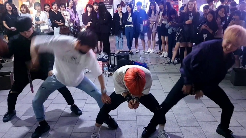 킹덤즈 KingdomS - WINNER 'Island' Dance Cover 20180520 [Kpop in Hongdae 홍대 Street Dance]