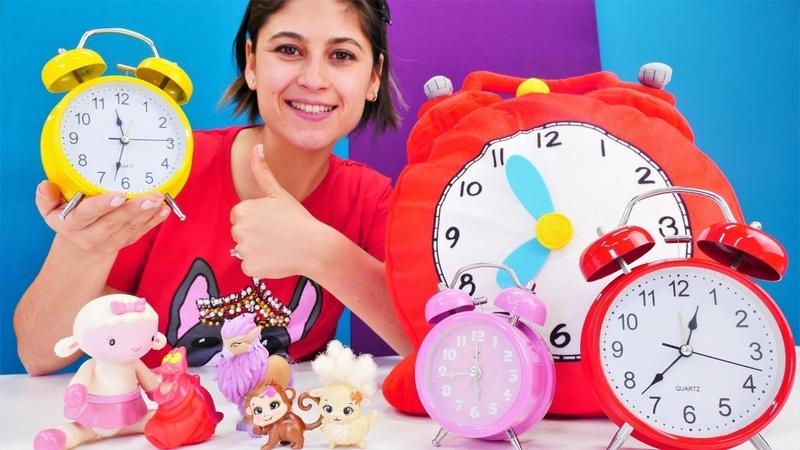 Ayşe'nin oyuncak kreşi: saat öğreniyoruz! Çocuklar için eğitici video