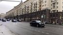 Москву расчистили для кортежа Путина.Москва стоит в пробках