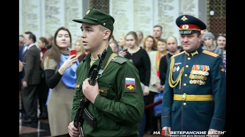 Новобранцы Преображенского полка приняли присягу на верность Отечеству