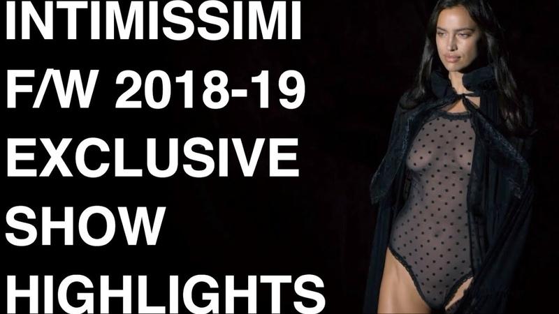 INTIMISSIMI   FALL WINTER 2019   IRINA SHAYK SARAH JESSICA PARKER