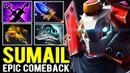 SUMAIL Epic Comeback with Forgotten Hero - Midlane Clockwerk