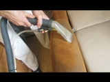 Чистка дивана экстрактором Cleanfix TW 300 - Для ухода и химической чистки ворсовых покрытий.