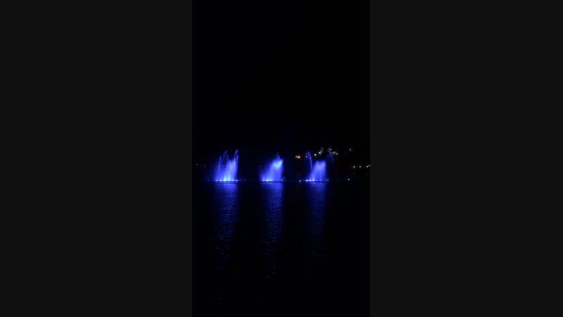 музыкальный фонтан в Абрау -Дюрсо
