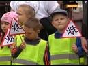 Пропусти пешехода! - в Видном прошла акция с участием сотрудников ГИБДД и дошкольников