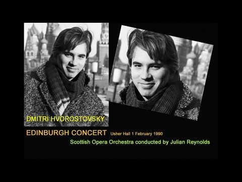 Dmitri Hvorostovsky Concert Edinburgh 1990