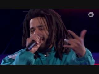 J. Cole — концерт на Мачте всех звезд НБА | NBA All-Star 2019