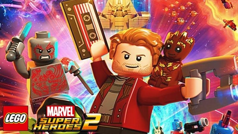 Лего Марвел Супергерои 2 СТРАЖИ ГАЛАКТИКИ 1 серия игровой мультик для детей на русском