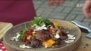 Салат з овочами гриль і телятина у тайському стилі рецепт від Євгена Клопотенка