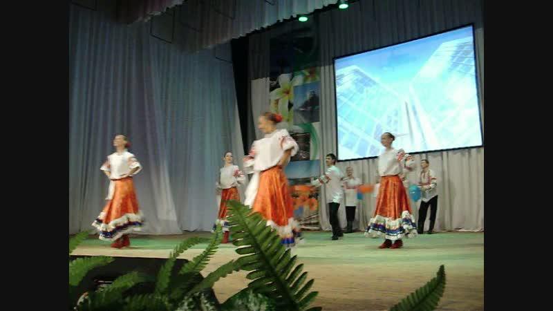 10 08 2012г Дворец молодёжи Многоцветье Танец с Тазиками Ребятам которые работали в коллективе