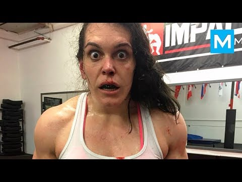 STRONGEST FEMALE FIGHTER - Gabi Garcia | Muscle Madness
