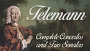 Telemann Complete Concertos and Trio Sonatas with viola da gamba