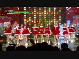 fromis_9 - All I Want For Christmas Is You (cover Mariah Carey) @ Music Bank 181221