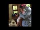 Дуэйн и его вторая дочь Жасмин 2018 г