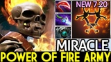 Miracle- [Clinkz] Power of Fire Army 22 Kills Easy Game 7.20 Dota 2