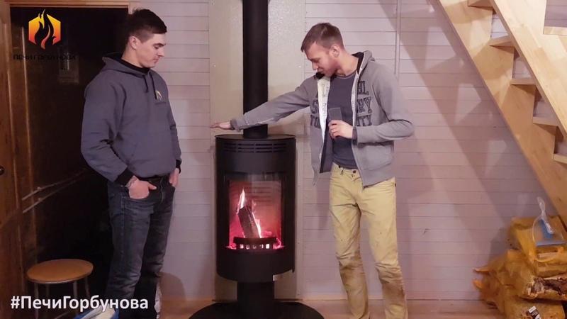 Отопительная печь камин Thorma Andorra с дымоходом Schiedel Permeter Предновогодний выпуск